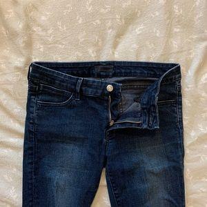 Koral mid-waist skinny dark blue jeans 29
